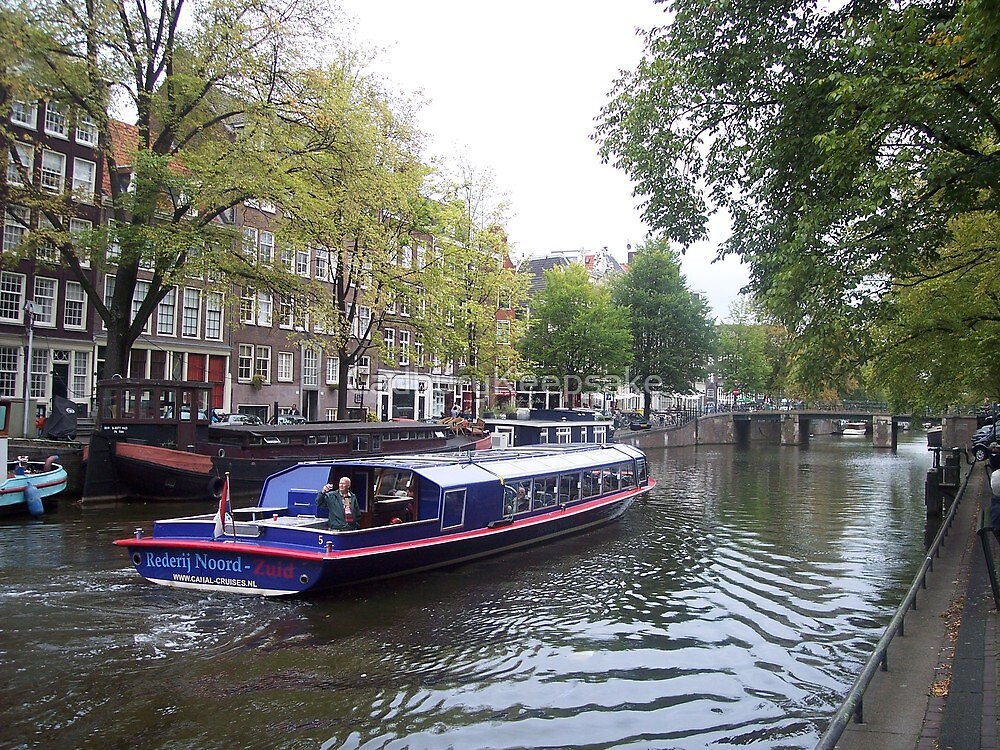 Rivers of Amsterdam by CadburyKeepsake