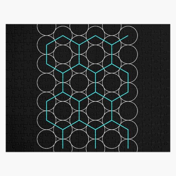 Geometry, Circles, Regular Hexagons Jigsaw Puzzle