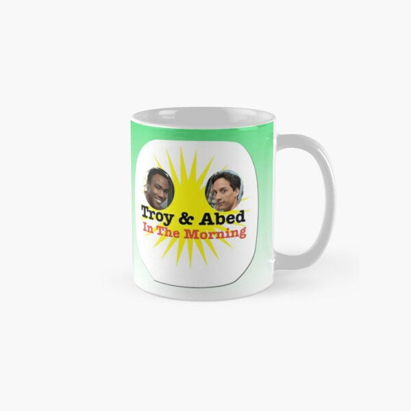 Troy and Abed in the Morning Classic Mug
