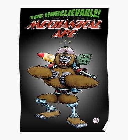 Mechanical Ape Poster