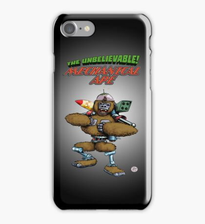 Mechanical Ape iPhone Case/Skin