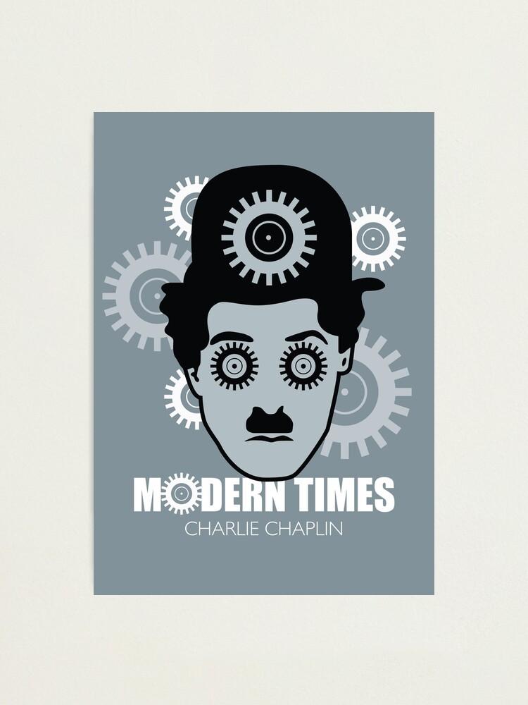 Alternate view of Modern Times - Alternative Movie Poster Photographic Print