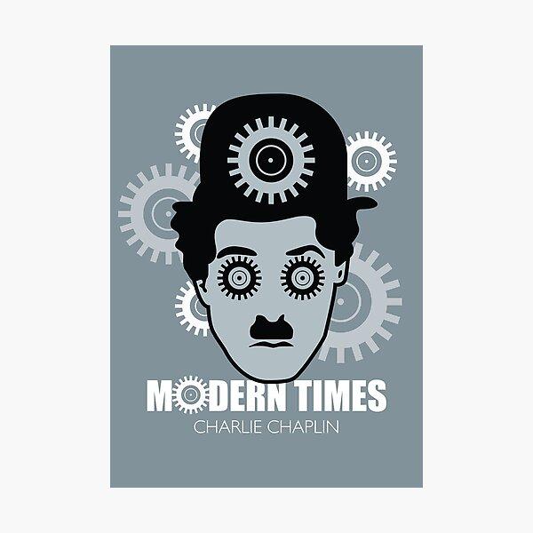 Modern Times - Alternative Movie Poster Photographic Print
