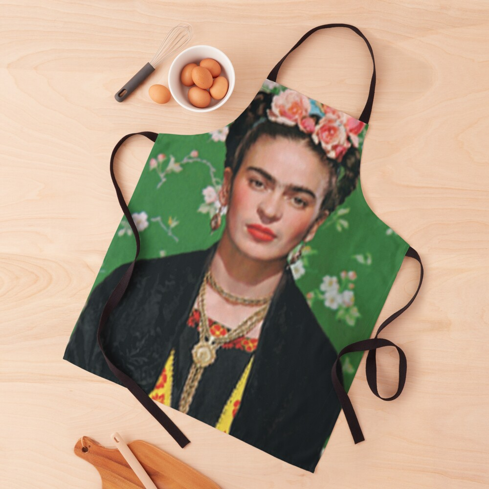 Frida Khalo T-shirt artist Apron