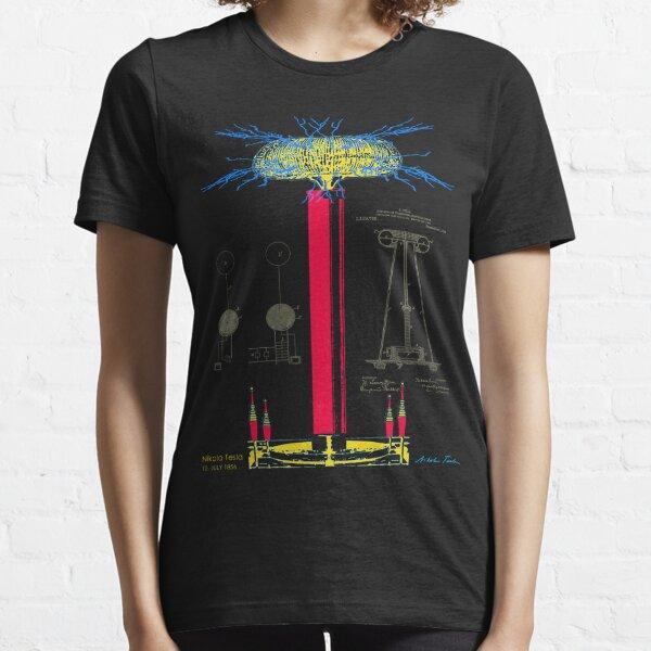 Tesla Coil Essential T-Shirt