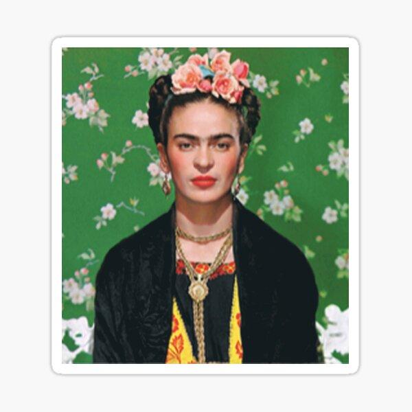 Artista de camisetas Frida Khalo Pegatina