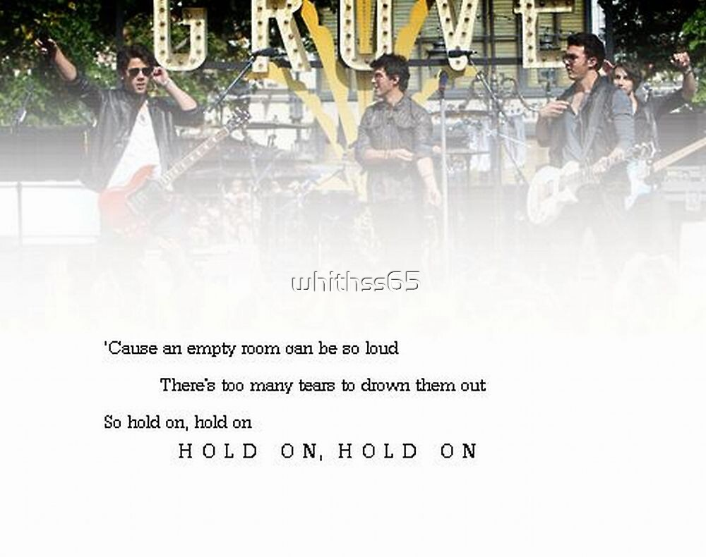 Hold On - Jonas Brothers by whithss65
