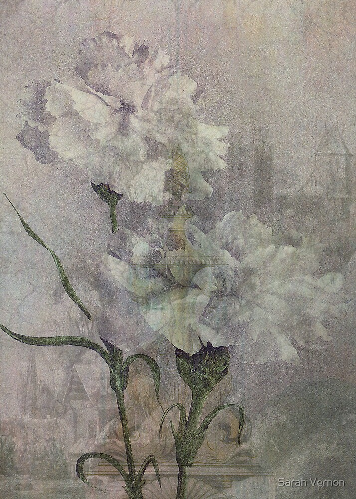 Castle Flowers by Sarah Vernon