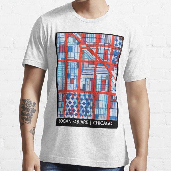 Logan Square, Chicago Essential T-Shirt
