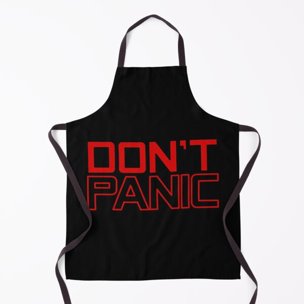 Don't Panic Hitchhiker's Guide To The Galaxy Apron