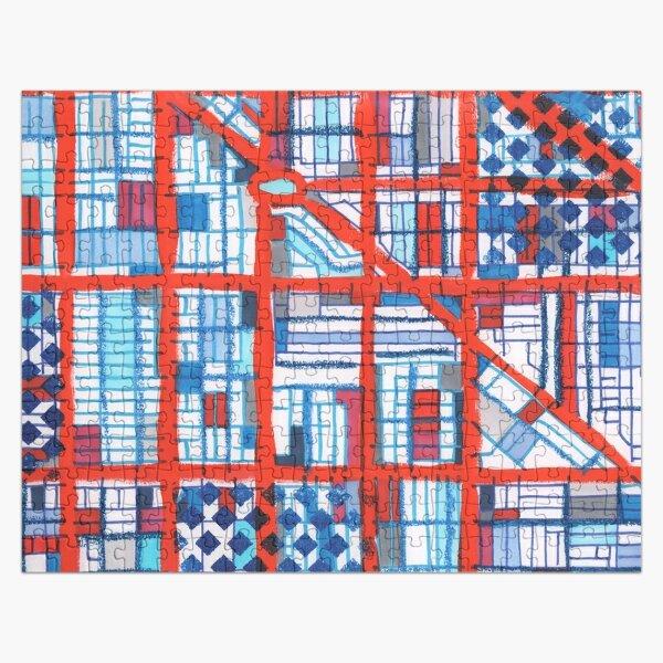 Logan Square, Chicago Jigsaw Puzzle