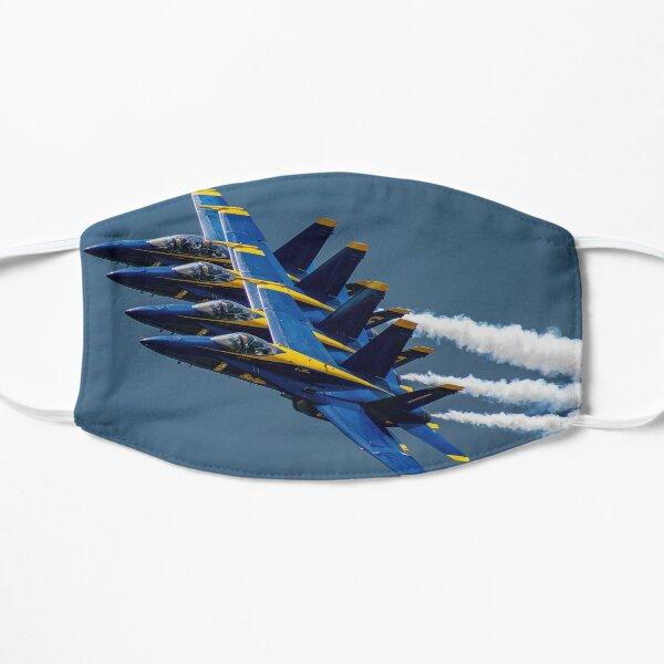 Blue Angels Fan Break 2019  Flat Mask