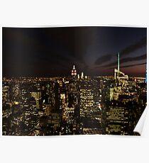 NYC Skyline at Twilight Poster