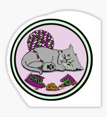 Kitten Smash! Sticker