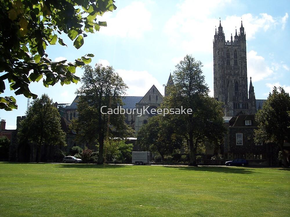 Canterbury Christ Church University in England by CadburyKeepsake
