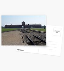 Entrance to Hell (Auschwitz concentration camp) Postcards
