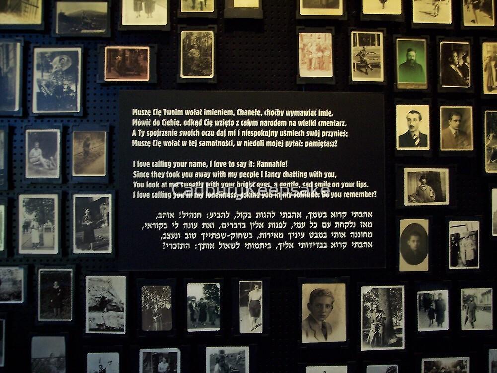 A Love Note (Auschwitz concentration camp) by CadburyKeepsake