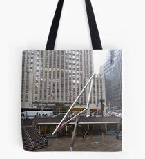 NYC Manhattan Streetscape with Angles Tote Bag