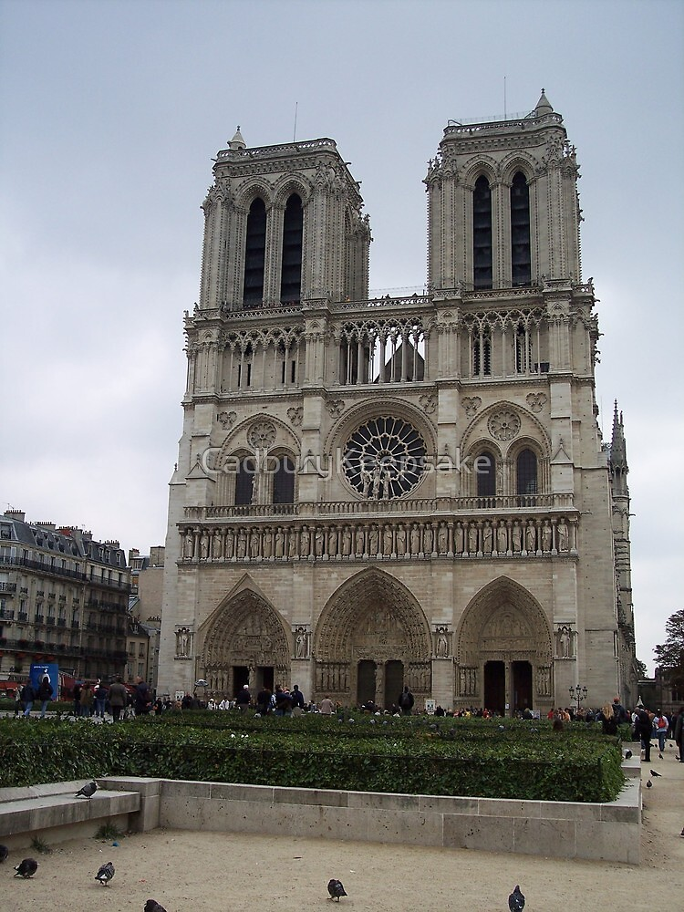Notre Dame, Paris, France by CadburyKeepsake