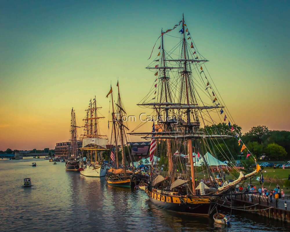 Tall Ship Celebration by Tom Causley