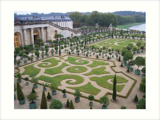 Gardens at the Palace of Versailles by CadburyKeepsake