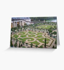 Gardens at the Palace of Versailles Greeting Card