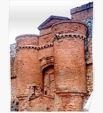 Chateau de Salse 2 Poster