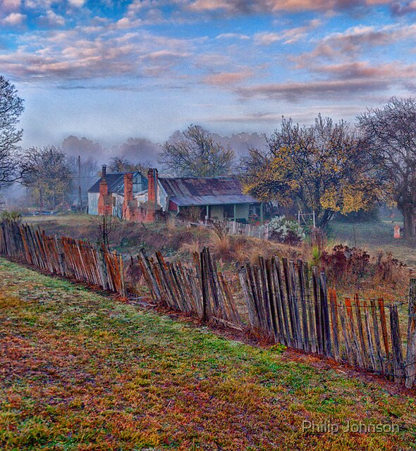 Old Reliable - Hill End NSW - The HDR Experience by Philip Johnson