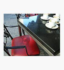 Coffee date Photographic Print