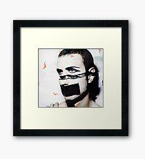 severed head Framed Print