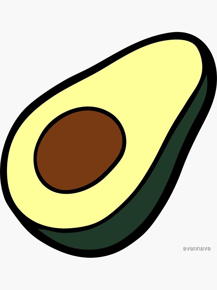 Avocado Pattern by evannave