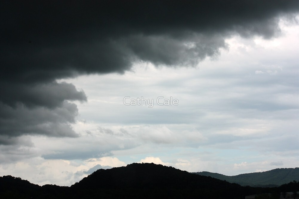 Rain Clouds by Cathy Cale