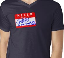 Hello! My name is JAVERT Mens V-Neck T-Shirt