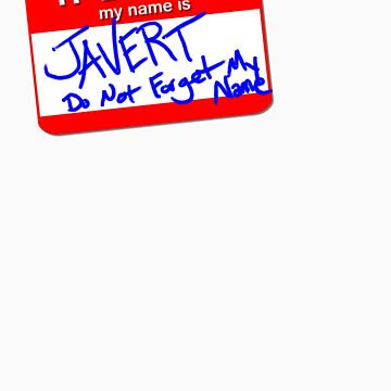 Hello! My name is JAVERT by just-mitchell