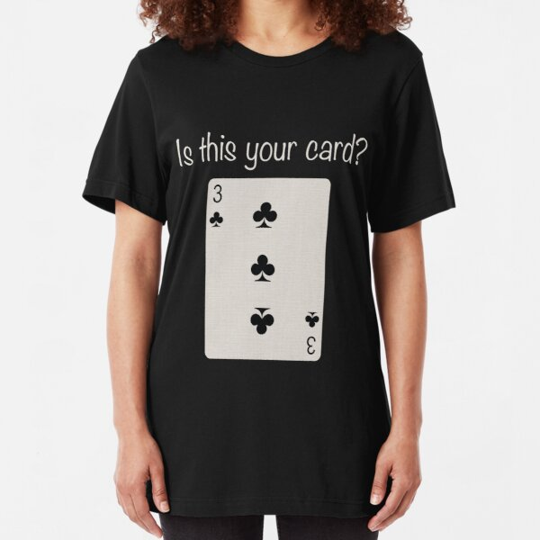 3 of Clubs Slim Fit T-Shirt