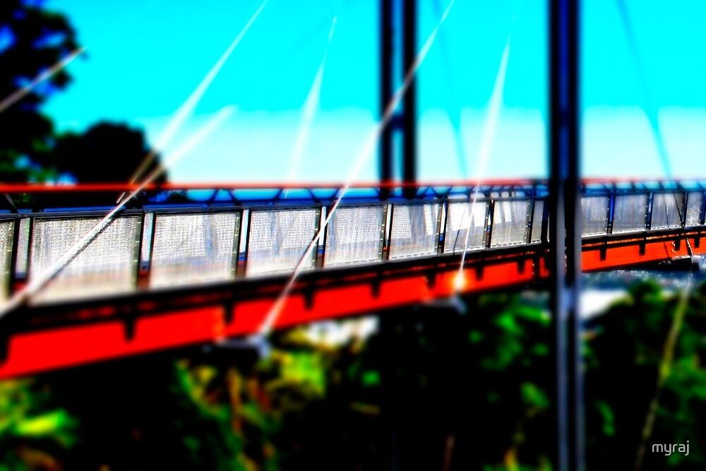 A bridge in the Hintrland by myraj