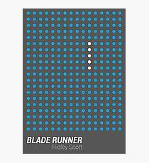 Dot Matrix - BLADE RUNNER - Poster Photographic Print