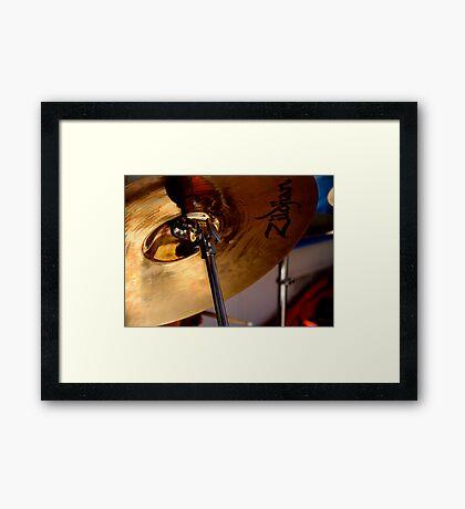 Zildjian Framed Print