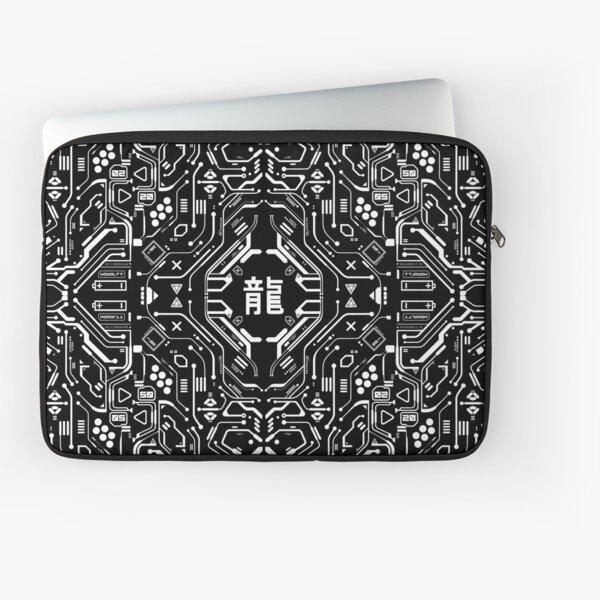 Copy of dragontron bw Laptop Sleeve