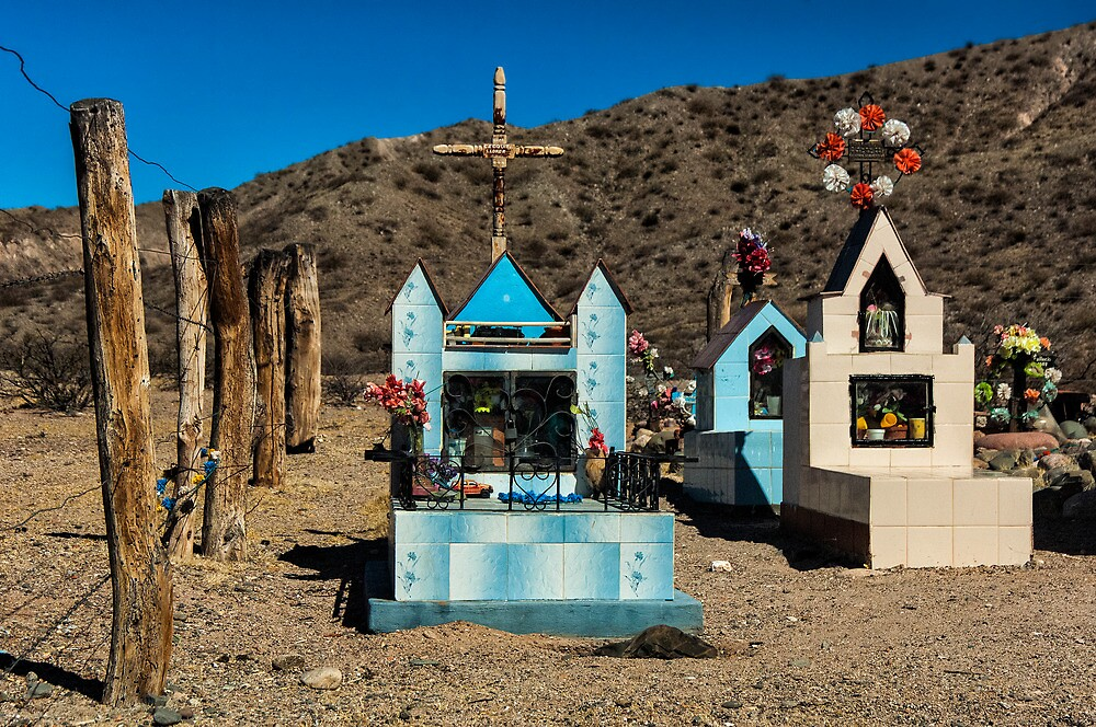 Mountain Cemetery - another view by photograham