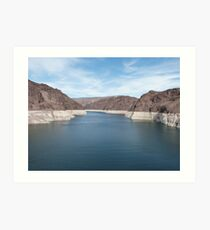 Spectacular Hoover Dam USA Art Print