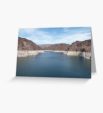 Spectacular Hoover Dam USA Greeting Card