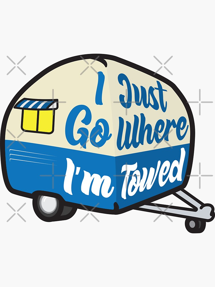 I Just Go Where I'm Towed (Blue Variant) by brainthought