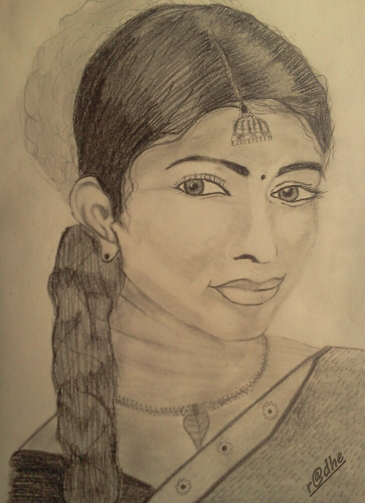 south indian beauty by mohit007