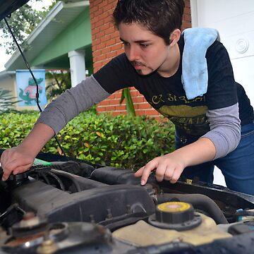 Mr. Stark, your hot mechanic is showing by watsonnnnnnnnnn
