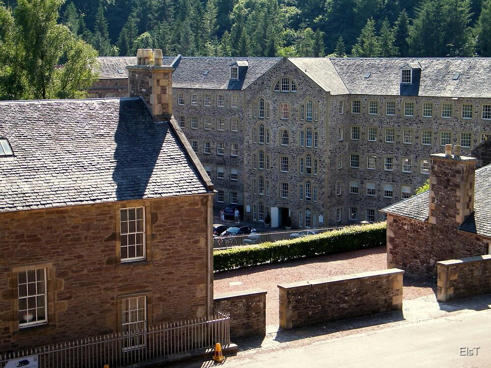 New Lanark Mill, Scotland by ElsT