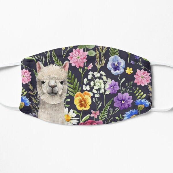 Wildflower Alpaca Flat Mask