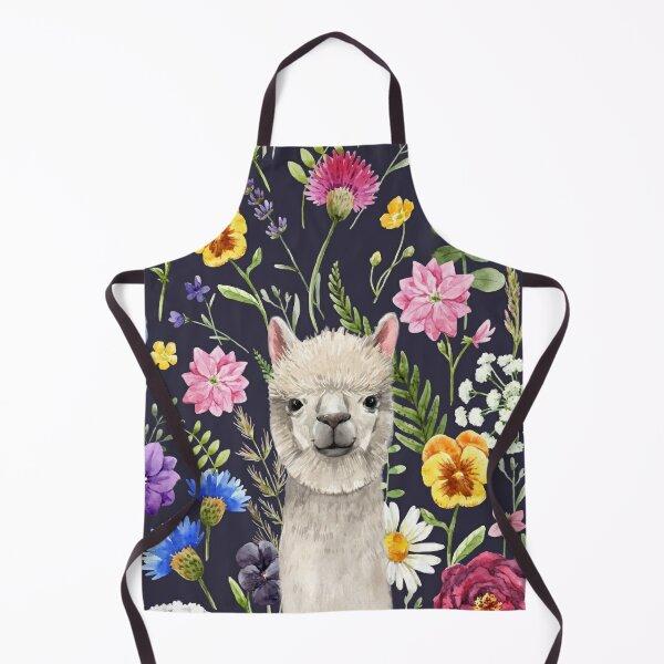 Wildflower Alpaca Apron