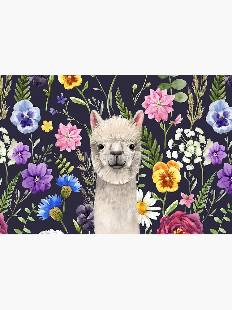 Wildflower Alpaca by MeganSteer
