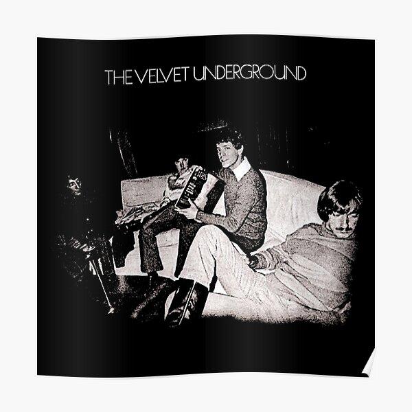 Velvet Underground Self Titled Cover Art Poster
